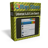 Universal AJAX Live Search for Joomla 1.5 & 2.5