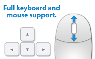 Keyboard and Mouse Support