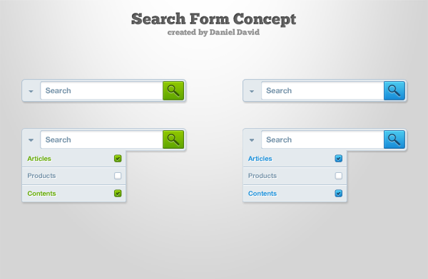 Search Form Elegant Theme